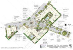 Site Plan - Saranap Village
