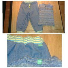 Et sensommersæt med strikket vest til Arthur Vest, Pants, Fashion, Trouser Pants, Moda, La Mode, Women's Pants, Fasion, Women's Bottoms