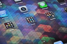 Absolutely stunning geometric iPad wallpapers from Simon Page (<3)
