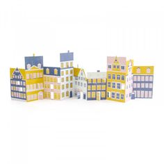 If you didn't manage to grab December's Papergang box featuring this wonderful concertina. We've decided to put you out of your misery.   Open out your own little street with this set of nine illustrated houses. Place in front of a lamp to see the town come to life! Megan Davies put pen to paper to design this wonderful concertina.  Details:  H: 54 cm x W: 14.5 cm Die Cut Concertina Made in the UK  Want to be first in line to receive wonderful papery goodness? Make sure you sign u...