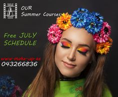 HELLO July.. HELLO SUMMER.. Start planning your Summer July Course with Make-Up Atelier.. Choose best time for you and Join classes immediatly.. Choose your available date this july for your Summer Makeup Course....