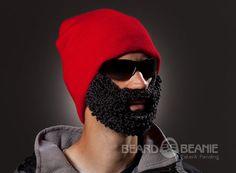 c763ddcd3bc The Original Beard Beanie™ Lumberjack Red
