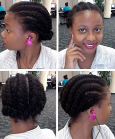 5 Tips for Exercising with Natural Hair  Easy ways to maintain the health and style of your tresses and without eliminating exercise. #naturalhair http://www.naturallycurly.com/curlreading/living/5-tips-for-exercising-with-natural-hair