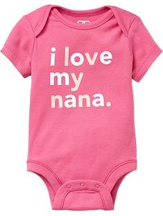 Shop Old Navy's collection of bodysuits and tops for your baby girl. Old Navy is your one-stop shop for stylish and comfortable baby clothes at affordable prices. Everything Baby, My Baby Girl, Baby Boys, Baby Girl Fashion, Baby Fever, Future Baby, Baby Items, Toddler Girl, Baby Gifts