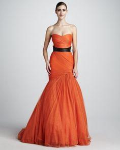 Orange-dress