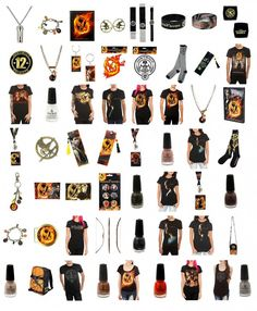Looks like Hot Topic has quite the Hunger Games Merchandise Hookup!