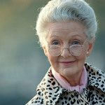 foto de una linda abuela