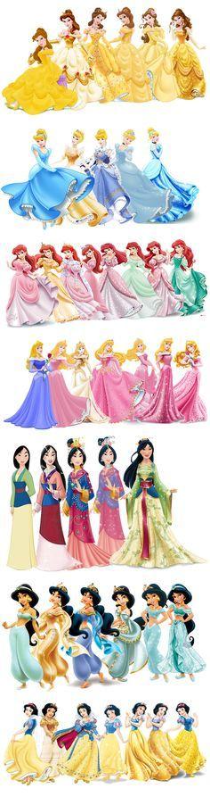 Princess evolution
