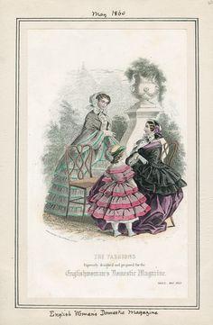 Englishwoman's Domestic Magazine May 1860 LAPL