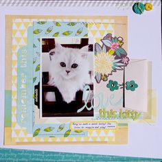 Love This Kitty - Scrapbook.com