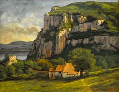 Gustave Courbet - The Rock of Hautepierre, 1869 at Art Institute of Chicago IL |