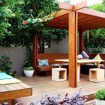 Garden Design Ideas Modern Garden Design Ideas - Illionis Home Chaise Bar, Lounge, Modern Garden Design, Pergola, Outdoor Structures, Deco, Garden Ideas, Home, Contemporary Apartment