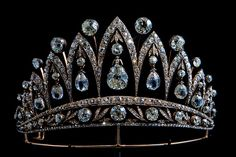 Known as Empress Josephine's Tiara, this tiara was made long after she died in around 1890 using the original diamonds given to Josephine by Tsar Alexander I (after her divorce from Napoleon) and passed down plus hundreds of other diamonds. Part of the Faberge collection on permanent display at the Houston Museum of Natural Science. Photo by crossmage, via Flickr.