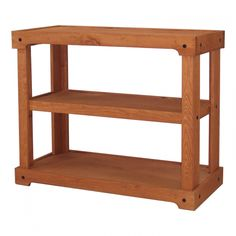 This wood shelving unit offers two areas for display and has an oak finish. The stand features an open shelf style. This wood shelving unit can be placed on the floor or on a counter top for a lifted display. Wood Shelving Units, Wooden Shelves, Open Shelving, Wood Shelf, Room With Plants, Plant Rooms, Display Shelves, Display Ideas, Store Fixtures