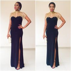 Chika Ike's outfit to AMVCA 2016 - http://www.thelivefeeds.com/chika-ikes-outfit-to-amvca-2016-2/