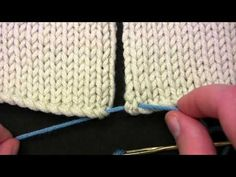 If you don't yet know the Mattress Stitch, check out this video and learn to make a simple, invisible seam. From Berroco.
