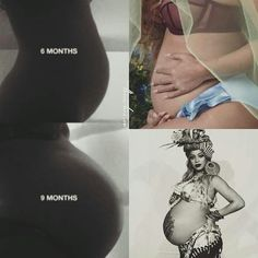 "~OH BUT WHOEVER KNEW THAT QUEEN BEY'S BELLY WOULD ""GROW"" TO BE SO FAMOUS? LOL! ~♥~ TINY BLESSINGS AWAIT!"