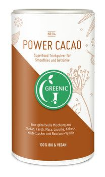 GREENIC Power Cacao Trinkpulver Mischung 175g MHD 31.10.2016