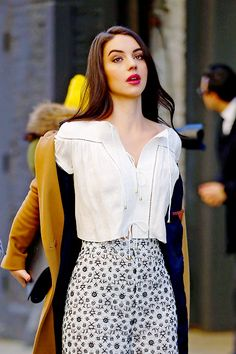 ADELAIDE KANE Arrives at Zimmermann Fashion Show in New York 02/12/2016