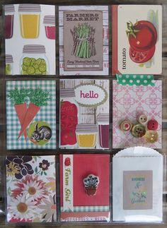 Pocket Letter - garden theme