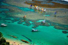 Praias Azuis do Brasil - Porto de Galinhas (Foto: Setur/Turismo Pernambuco)