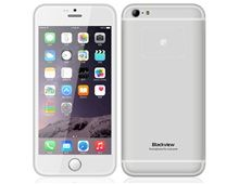 """Blackview Ultra A6 4.7"""" 3G Smartphone IPS Capacitive 1280x720 Android 4.4 Quad-core MTK6582M 1.3GHz 1GB RAM & 8GB ROM 13MP (Silver)"""