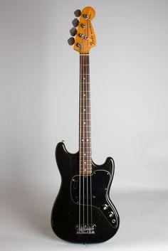 Fender Musicmaster Bass Solid Body Electric Bass Guitar (1977) RetroFret Vintage Guitars