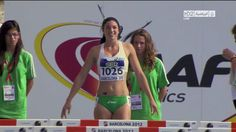 """Australian Michelle Jenneke, 19, wowed the crowd at the IAAF World Junior Championship last weekend in Barcelona with her hip-wiggling, shimmying, leg shaking pre-race jiggle ... """"You have to appreciate anyone who enjoys themselves this much."""" - USA Today.  Shame she didn't make the Olympics!"""