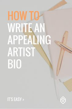 Learn How to Write An Artist Bio. Here are five steps to write a stand out artist bio. It's easier than you think!