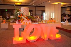 The California Wedding Day lounge at the show!