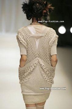 Подиум: вязаные модели - Разное (мода) - Мода и стили - Каталог статей - ЛИНИИ ЖИЗНИ