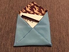 Sukiya bukuro 袋物のお稽古 くるっと?懐紙入 | 織屋ぼちぼちブログ Fabric Wallet, Mindfulness Meditation, Buddhism, Wellness