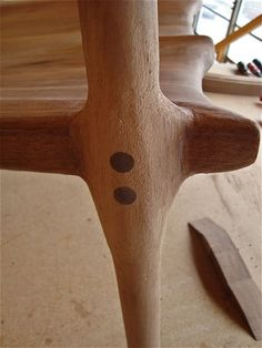 furniture design · detail ·           ·   Pat Beurskens Woodworking Portfolio: Sam Maloof Style Rocking Chair