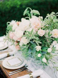 Wedding reception centerpiece idea; Featured Photographer: We Are Origami