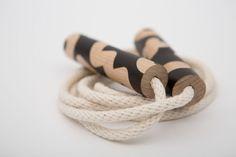 Corde à sauter noir xo / Jump Rope Black xo