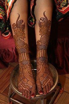 Best Henna Wedding Designs 2017 2018