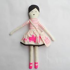 I love Paris doll pink