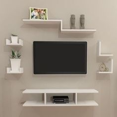 Bedroom Furniture Design, Home Room Design, Tv Unit Interior Design, Sitting Room Design, Bookshelves In Living Room, Kids Room Furniture, Home Entrance Decor, Tv Room Design, Home Decor Shelves