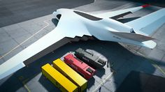 The concept calls for a payload capacity of 200 tons (Image: Aleksey Komarov)