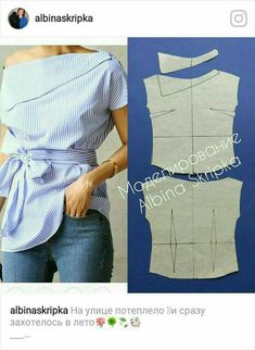Amazing Sewing Patterns Clone Your Clothes Ideas. Enchanting Sewing Patterns Clone Your Clothes Ideas. Dress Sewing Patterns, Clothing Patterns, Fashion Sewing, Diy Fashion, Sewing Blouses, Diy Tops, Refashioning, Diy Clothing, Dressmaking