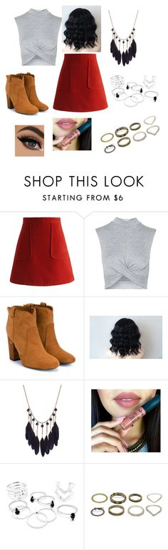"""""""Untitled #149"""" by katherin-1 ❤ liked on Polyvore featuring Chicwish, Topshop, Laurence Dacade, women's clothing, women's fashion, women, female, woman, misses and juniors"""