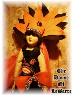 Boudoir Doll Halloween Dress by HouseofLeBarre on Etsy