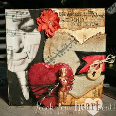 Mixed Media Canvas by Ms. Ruin for Ms. Ruin's Playthings.
