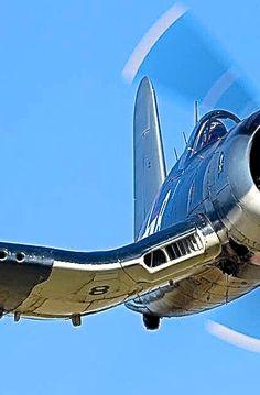 pinterest.com/fra411 #planes -vintage - Vought F4U Corsair