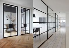 11x deuren van staal en glas
