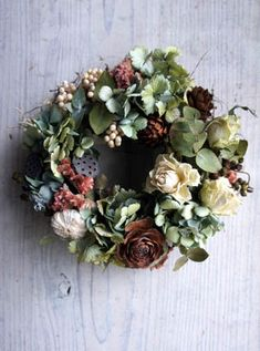 Dry Flowers, Candle Rings, Floral Wreaths, Herbs, Candles, Christmas, Handmade, Decor, Dried Flowers