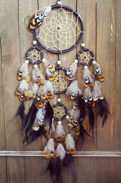 How much is this beautiful Dream catcher, I want to buy one for my mom who is battling cancer. Black Dream Catcher, Dream Catcher Boho, Dream Catchers, Native American Fashion, Native American Indians, Mobiles, Dream Catcher Mobile, Medicine Wheel, Bubble Art
