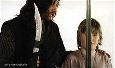 Viggo Mortensen and his son, Henry Mortensen.