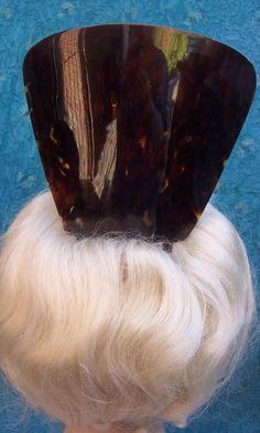 Oversized Tortoiseshell Hair Comb Spanish Mantilla Hair Accessory