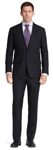 American cut suit.Awesome & Handsome Looking Men's Formal-wear Trends.